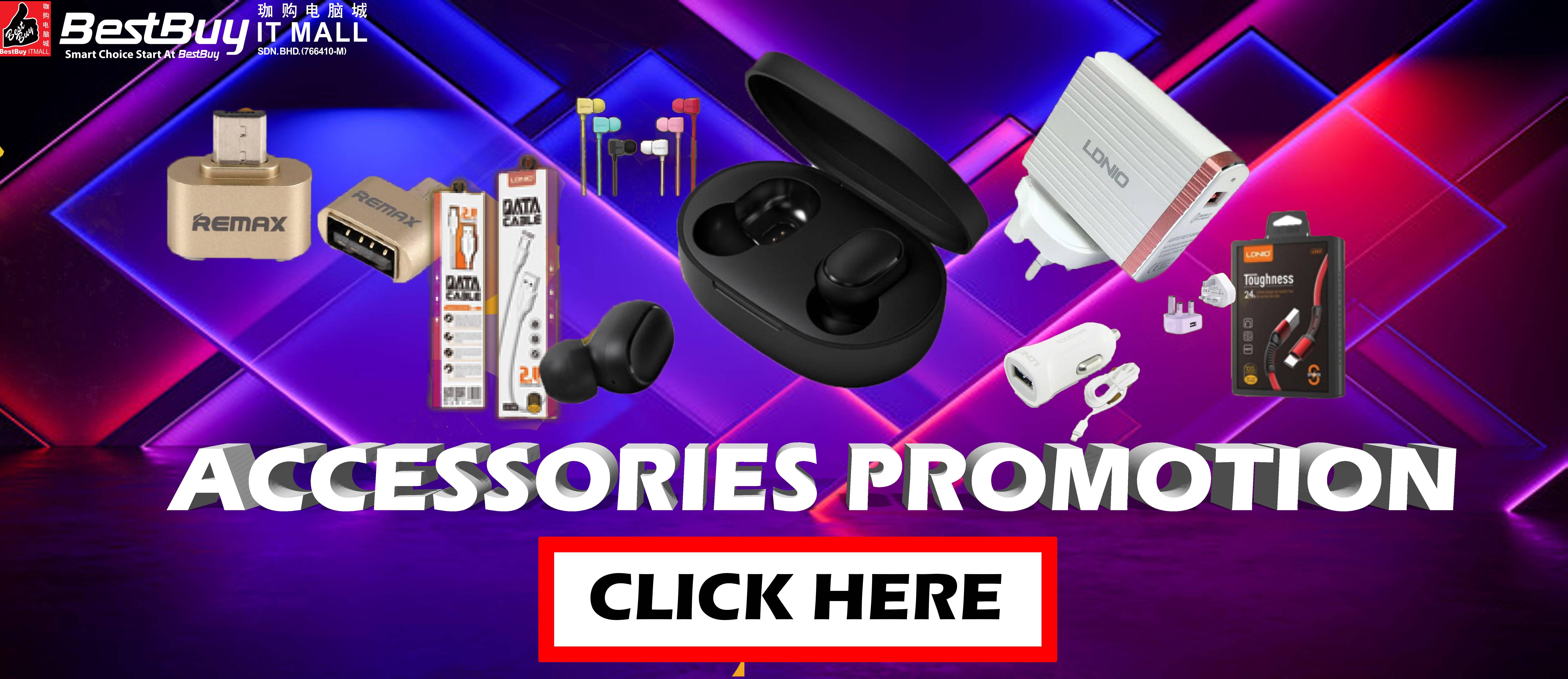 Accessories Promo Oct 2019