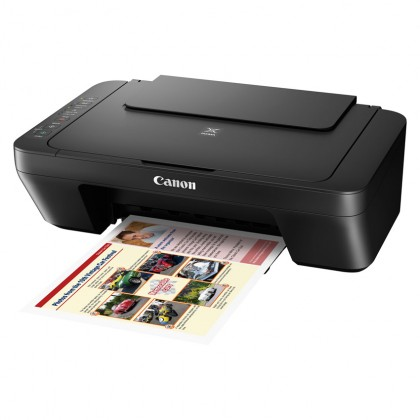Canon Pixma E470 3-in-1 WiFi Inkjet Printer (*FREE Touch n Go credit RM30)