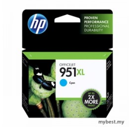 HP 951XL Cyan Ink Cartridge High Yield (CN046AA)