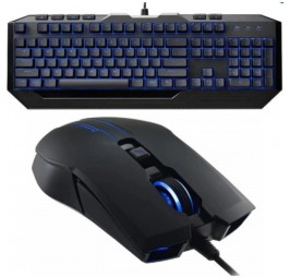 Cooler Master Devastator II Gaming Mem-chanical Keyboard & Mouse LED