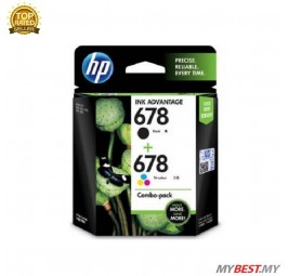HP 678 Combo Black&Tricolor Ink Cartridge (L0S24AA)
