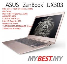"""Asus ZenBook UX330U-AFC065T 13.3"""" Laptop/ Notebook (i7-7500HQ, 8GB, 512GB, Intel, W10H)"""