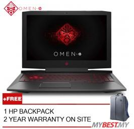 "HP OMEN 15-CE032TX 15.6"" Laptop/ Notebook (I7-7700HQ, 4GB, 1TB, NV GTX1050, W10H)"
