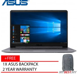 "ASUS VIVOBOOK A510U-QBQ588T (i5-7200 / 15.6"" / 4GB / 500GB / NVIDIA® GeForce® 940MX 2GB ( N16S-GTR) / WIN10)"