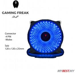 AVF Gaming Freak 33 x LED PC Fan (ARGUS33) - Blue