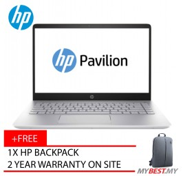 "HP Pavilion 15-Ck063TX 15.6"" FHD Laptop Gold (I5-8250U, 4GB, 1TB, MX150 2GB, W10)"