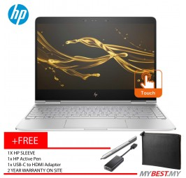"HP Spectre X360 13-Ac081TU 13.3"" FHD Laptop (I7-7500u, 8GB, 256GB, Intel, W10H)"