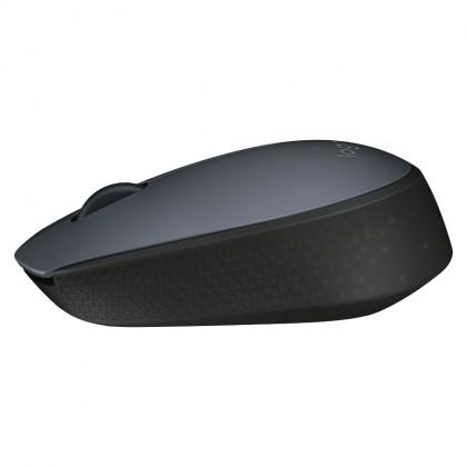 Logitech M170 Wireless Mouse 2.4GHz (Black)