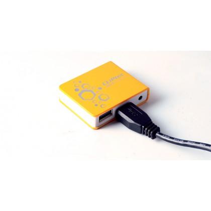 CLiPtec VELOCITY USB 3.0 4 Ports Hub RZH323 (Orange)