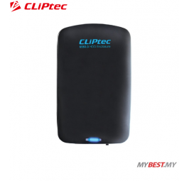 "CLiPtec POCKET-PASSPORT 2.5"" USB 3.0 SATA HDD Enclosure RZE280 (Black)"