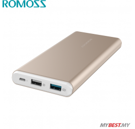 ROMOSS GT Pro 10000mAh Power Bank (Gold)