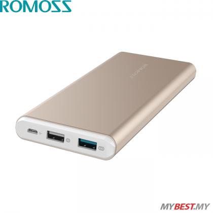 ROMOSS GT Pro 10000mAh Power Bank (Gold)
