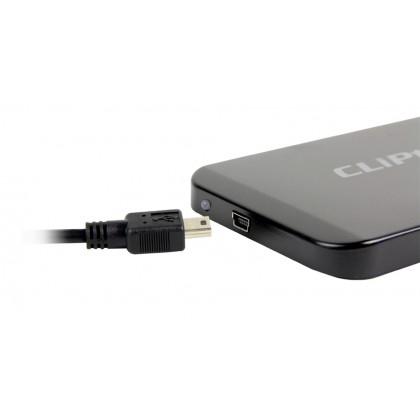 """CLiPtec 2.5"""" USB 2.0 SATA HDD Enclosure RZE270 (Black)"""