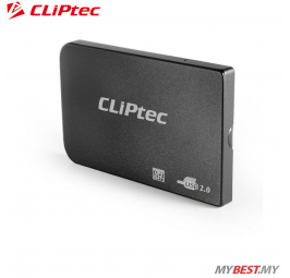 "CLiPtec 2.5"" USB 2.0 SATA HDD Enclosure RZE270 (Black)"