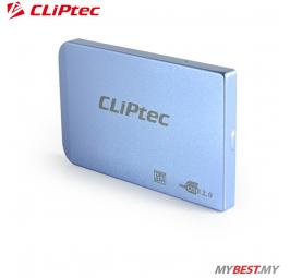 """CLiPtec 2.5"""" USB 2.0 SATA HDD Enclosure RZE270 (Blue)"""
