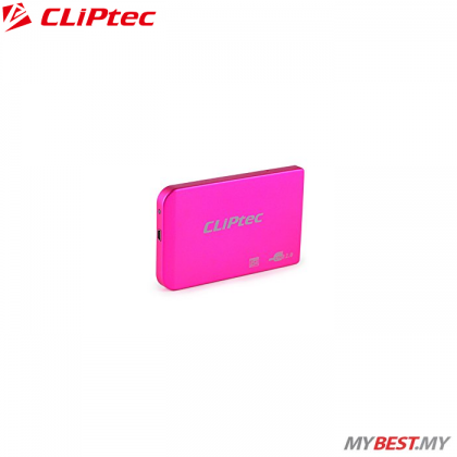 "CLiPtec 2.5"" USB 2.0 SATA HDD Enclosure RZE270 (Red)"