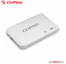 "CLiPtec 2.5"" USB 2.0 SATA HDD Enclosure RZE270 (Silver)"