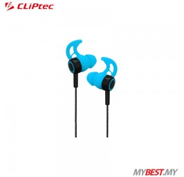 CLiPtec XTION-FIT BSE200 Sports Secure Fit Earphone with Microphone