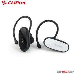CLiPtec MONO-CALLER Bluetooth 3.0 Mobile Mono Headset PBH119 (White)