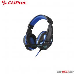 CLiPtec STEGOUS S1 LED Illuminated Stereo Gaming Headset BGH661 (Blue)