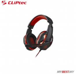 CLiPtec STEGOUS S1 LED Illuminated Stereo Gaming Headset BGH661 (Red)