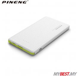 PINENG PN-951 10000mAh Lithium Polymer Power Bank (White)