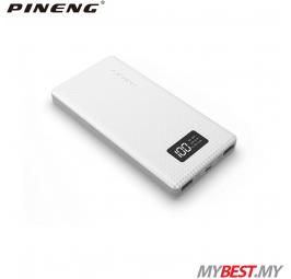 PINENG PN-963 10000mAh Lithium Polymer Power Bank (White)