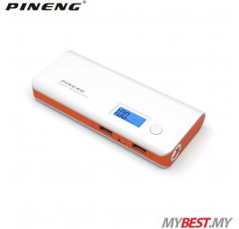 PINENG PN-968 10000mAh Power Bank (White Orange)