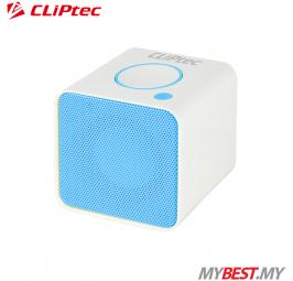 CLiPtec COLOUR RHYTHM Portable Bluetooth + TF Speaker PBS232 (Blue)