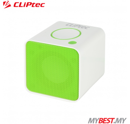 CLiPtec COLOUR RHYTHM Portable Bluetooth + TF Speaker PBS232 (Green)