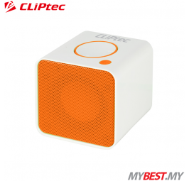CLiPtec COLOUR RHYTHM Portable Bluetooth + TF Speaker PBS232 (Orange)