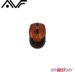 AVF AM115G 2.4GHz Wireless Optical Mouse (Orange)