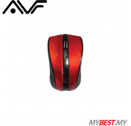 AVF AM150G 2.4GHz Wireless Optical Mouse (Red)