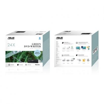 ASUS Internal 24X Green DVD-Writer DRW-24D5MT