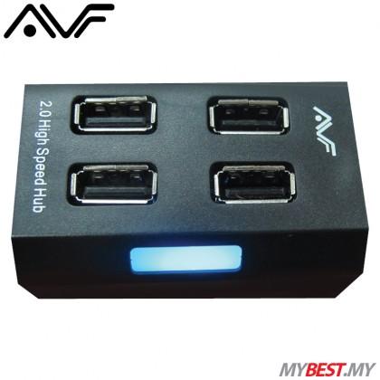 AVF AUH928 High-Speed USB 2.0 HUB (Black)