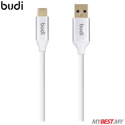 budi M8J176 3.0 USB-A to USB C Charge/Sync Cable