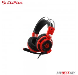 CLiPtec STEGERIOUS BGH665 LED Illuminated Stereo Gaming Headset