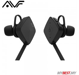 AVF HBT35 Wireless Earphone with Bluetooth Function (Black)