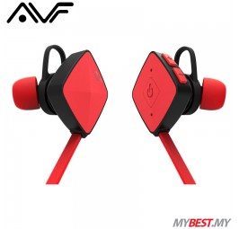 AVF HBT35 Wireless Earphone with Bluetooth Function (Red)