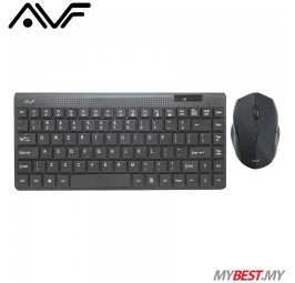 AVF AKM3080 Wireless Optical Mouse and Keyboard Combo