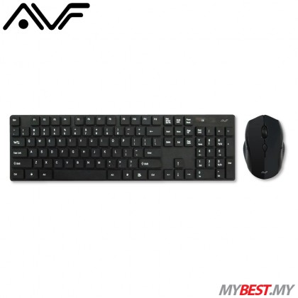 AVF AKM8000G Wireless Optical Mouse and Keyboard Combo
