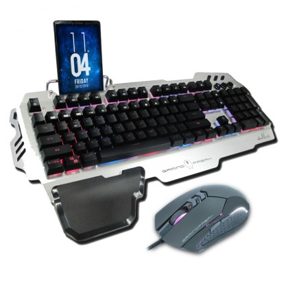 AVF GK3S-XC39 RGB Plunger Gaming Keyboard and Gaming Mouse Combo