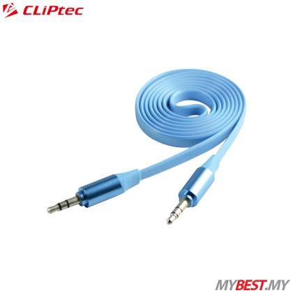 CLiPtec METALLIC OCC232 Slim Flat Stereo Audio Cable