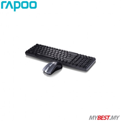 Rapoo X1800 Wireless Optical Mouse & Keyboard