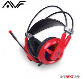 AVF GH-U21 Gaming Freak Silent Death Superbass Gaming Headset (Red)