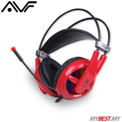 AVF GH-U21 Gaming Freak Silent Death Superbass Gaming Headset (Red)