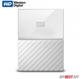 WD My Passport Portable Hard Drive 1TB (White)