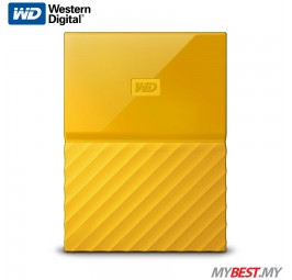 WD My Passport Portable Hard Drive 1TB (Yellow)