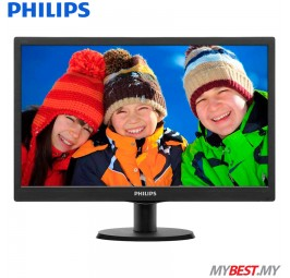 "PHILIPS 193V5LHSB2/69 18.5"" LCD Monitor"
