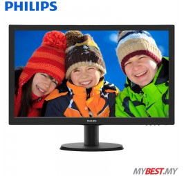 "PHILIPS 243V5QHSBA/69 23.6"" LCD Monitor"